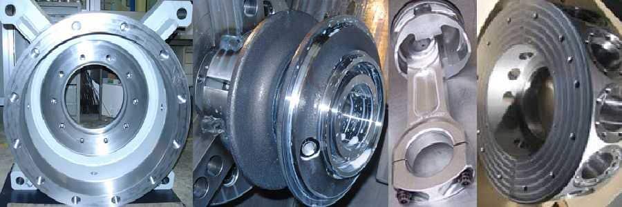 Pulizia per tornitura acciaio, ottone, alluminio, ghisa