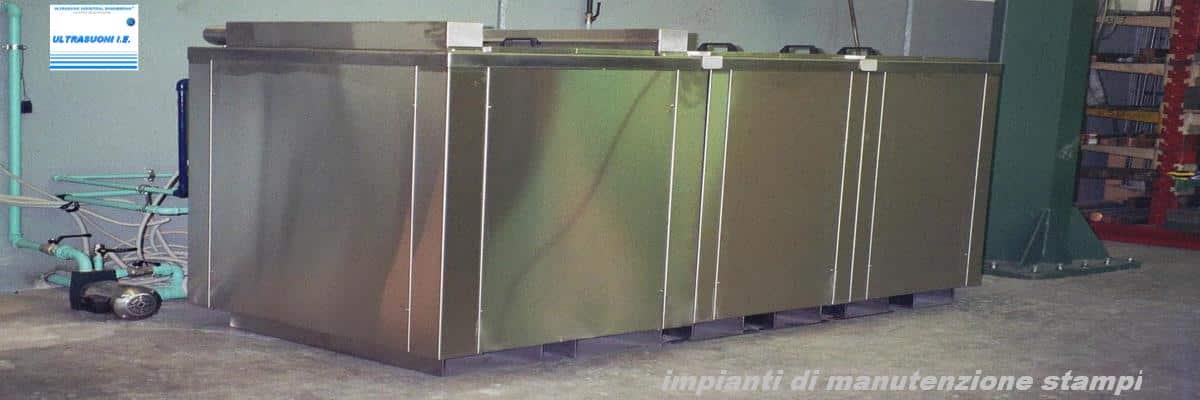 Vasche ad ultrasuoni per pulizia meccanica, utensili, superfici